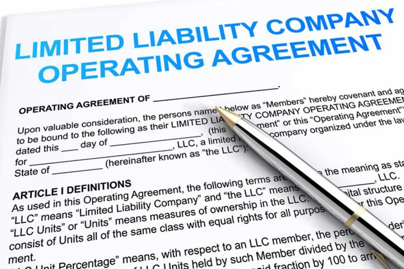 Sample Limited Liability Company Operating Agreement Tx Single